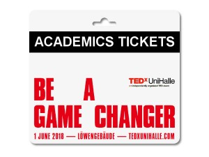 TEDxUniHalle - Academics Ticket