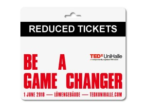 TEDxUniHalle - Reduced Ticket